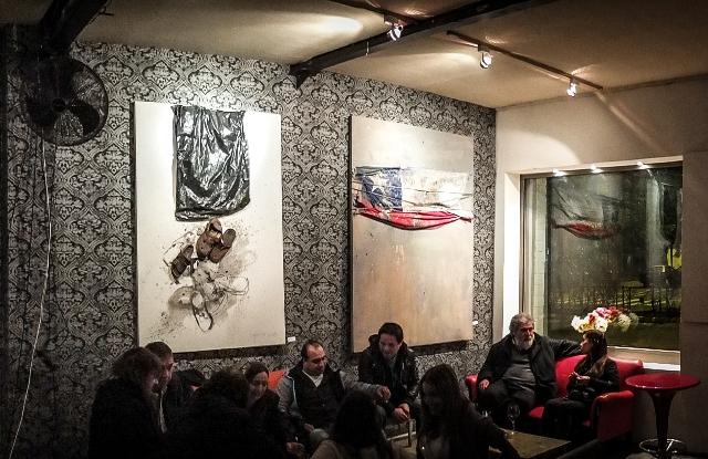 Premios Nacionales de Arte se toman la Plaza Ñuñoa con espectacular muestra de arte nocturna