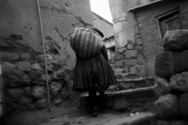 """""""Misterio Inca"""": una muestra marcada por las particularidades de una cultura y una cámara Holga"""