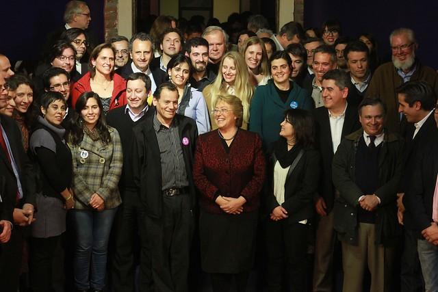 Los colegios VIP arrasan en el comando de Bachelet