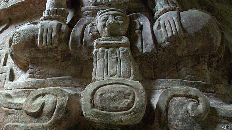 El friso fue hallado en julio en una pirámide maya.