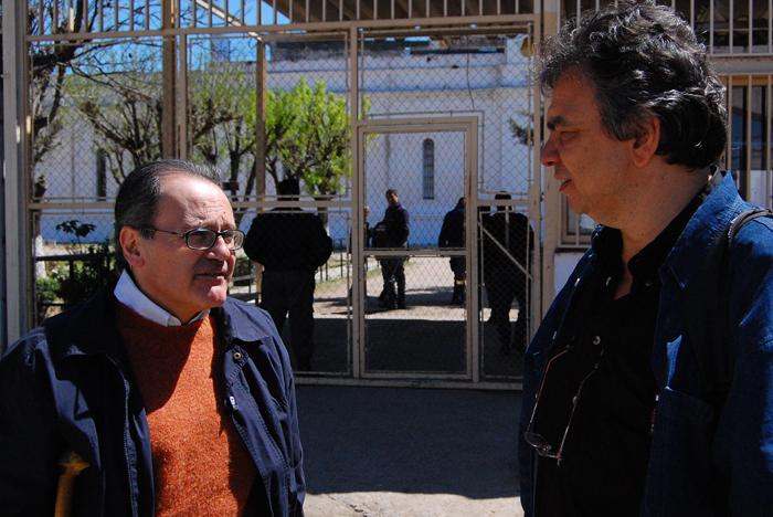 Shlomo Slutzky a la derechaFoto: Gentileza Shlomo Slutzky