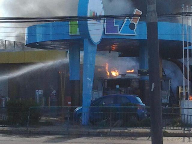 La maniobra de retiro de gas que provocó la explosión en la bencinera de Viña del Mar