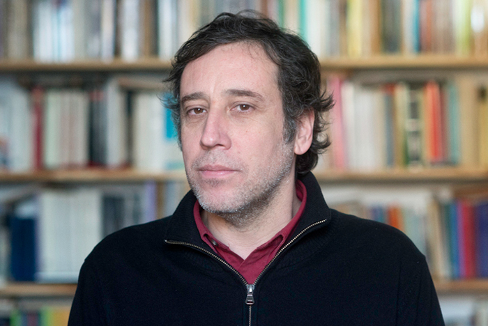 Gonzalo Peralta, historiador.Foto: Javier Liaño