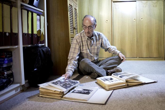 Aníbal Palma, ex ministro de Allende.Foto: Javier Liaño