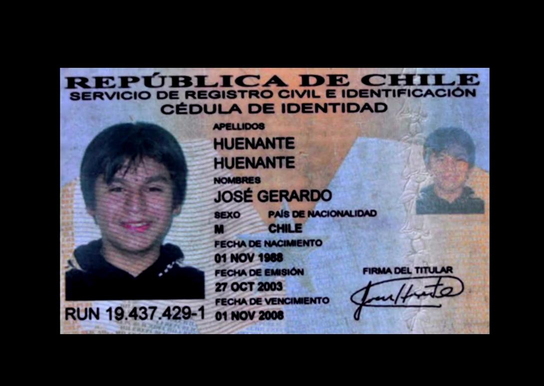 ¿Dónde está José Huenante?