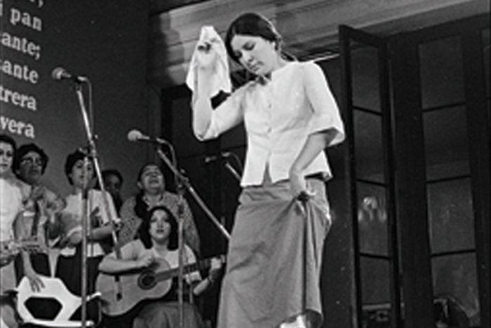 Muestra fotográfica y Almudena Grandes en la Estación Mapocho
