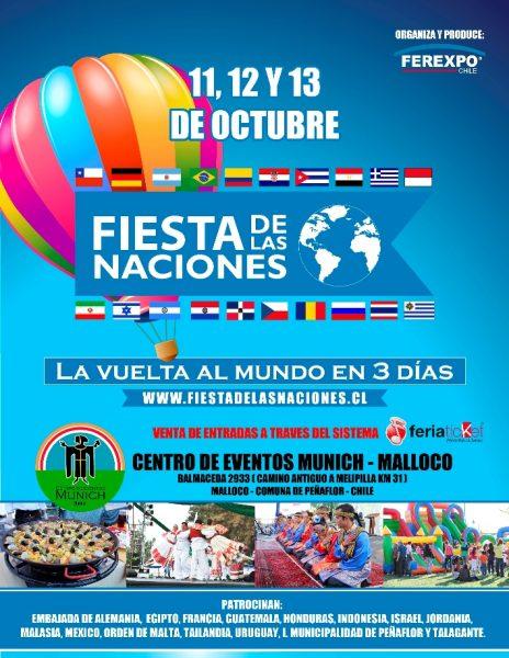 CONCURSO: Gánate entradas dobles a la Feria de las Naciones. Lo mejor en gastronomía internacional