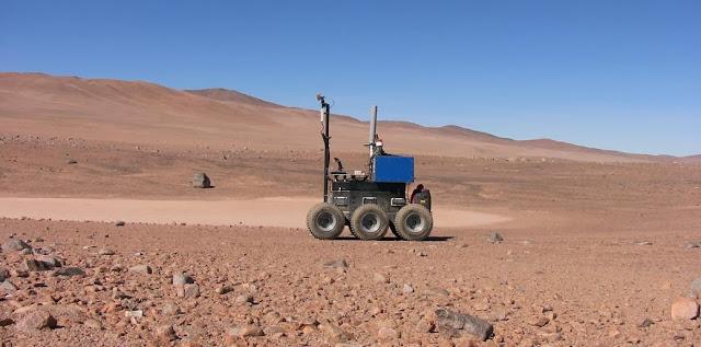 Atacama se convierte en antesala de Marte