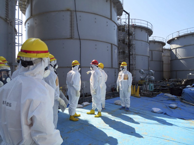 Detectan nueva fuga en central de Fukushima