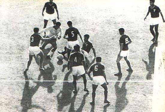 Garrincha y los 8 mexicanos