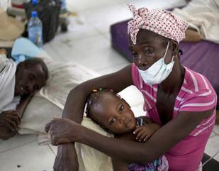 Haití registra un aumento en los casos de cólera