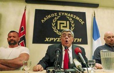 Prisión para el líder del partido neonazi griego