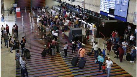 En julio, la venta de boletos de Venezuela al exterior en 2013 fue 80% mayor que en 2012.