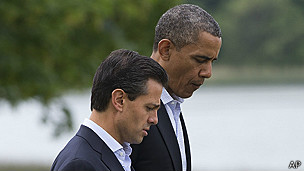 Barack Obama había prometido a Enrique Peña Nieto investigar el espionaje a funcionarios mexicanos.