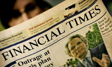 The Financial Times asume la fuerza de la prensa digital y supedita su edición impresa a la redacción web
