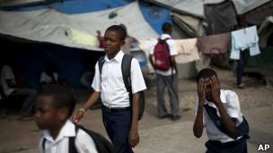 Sólo a un 20% de los niños restavek se les permite ir al colegio. La cifra baja a un 1% para estudios secundarios.