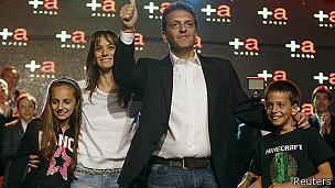 Sergio Massa, el gran ganador de las elecciones legislativas argentinas