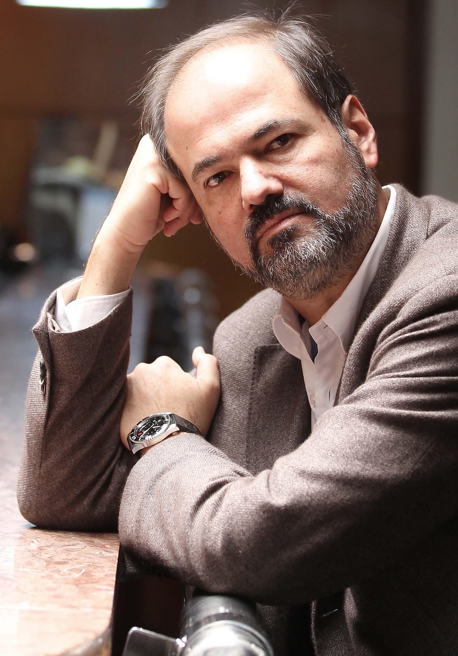 Mexican writer Juan Villoro