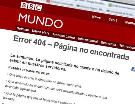 Error 404: aquí para quedarse