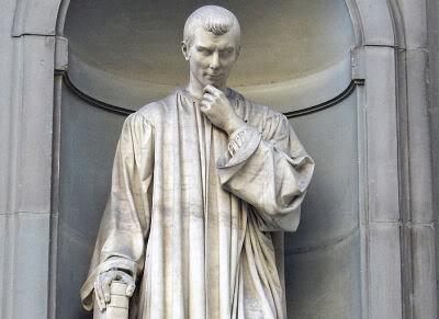 Maquiavelo será de los primeros en analizar la religión no en vista a la verdad o falsedad de sus postulados, sino desde la óptica de su efecto social y político.