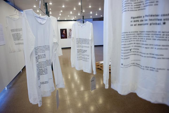 Parte de la Exposición PUSI C´ CHAKURA PROJECT Foto: Javier Liaño