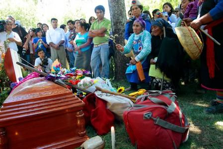 Funeral de Nicolasa Quintreman