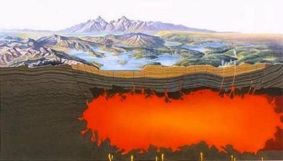 Erupción del volcán del parque de Yellowstone podría tener efectos catastróficos a nivel planetario