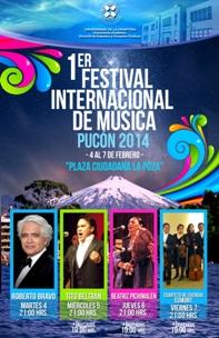 UFRO realiza el Primer Festival de Música Pucón 2014