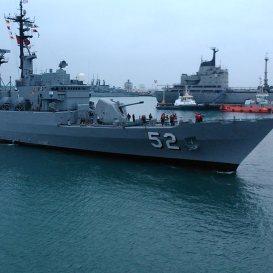 Naves de la Marina de Guerra del Perú ingresaron ayer al denominado 'triángulo exterior'