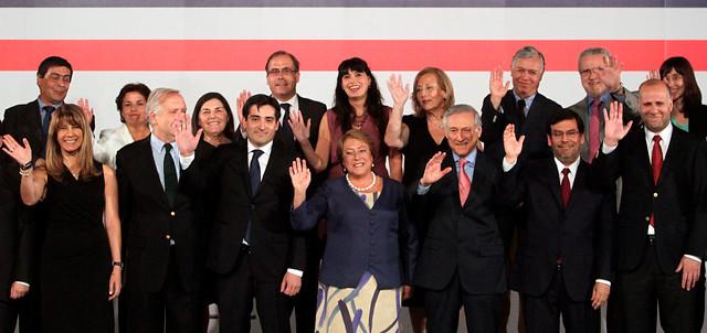El gabinete de Bachelet: comienzo con control total