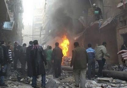 Continúa masacre en Alepo: diez muertos tras nuevo ataque aéreo del régimen de Al Asad