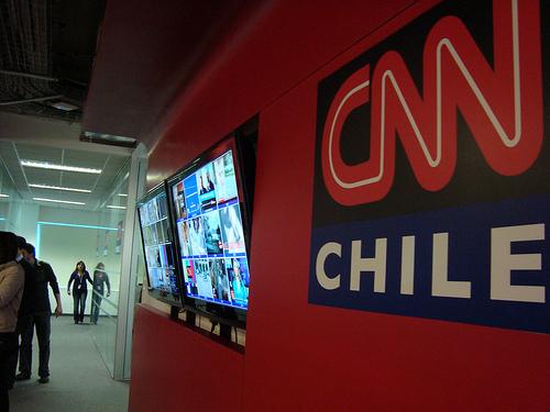 """CNN Chile se va a negro por """"irregularidades en el suministro energético"""""""