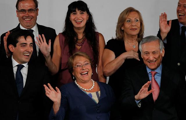El gabinete de Bachelet: el poder soy yo