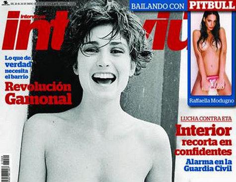 El pasado en topless de la amante de Hollande