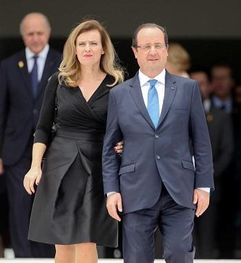 Hollande oficializa su ruptura con la primera dama, Valérie Trierweiler