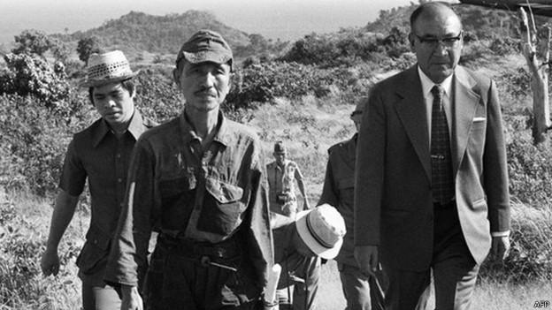 Muere soldado japonés que se ocultó en la selva 29 años tras la Segunda Guerra Mundial