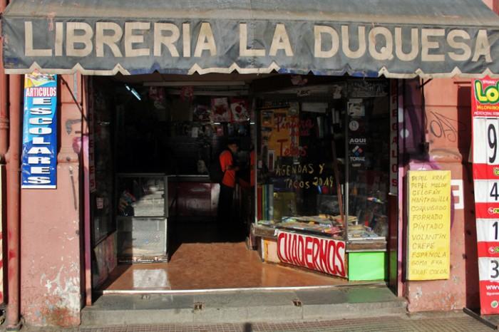 Librería la Duquesa Foto: Gonzalo Rubio
