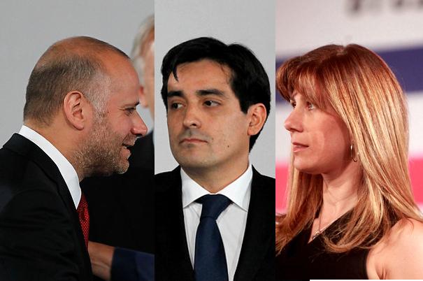 Primer gabinete de Bachelet: Rodrigo Peñailillo, Álvaro Elizalde y Ximena Rincón, la tríada política de La Moneda