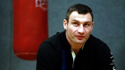 El boxeador que lidera las protestas en Ucrania