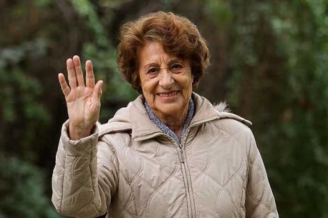 Aviadores rindieron homenaje a Ángela Jeria: fue una