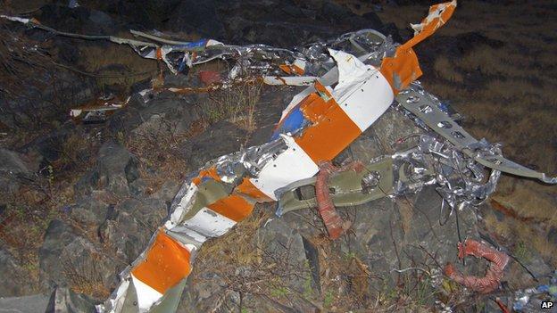 Investigadores dieron con la avioneta un año después pero el nunca encontraron el cuerpo de Fossett.