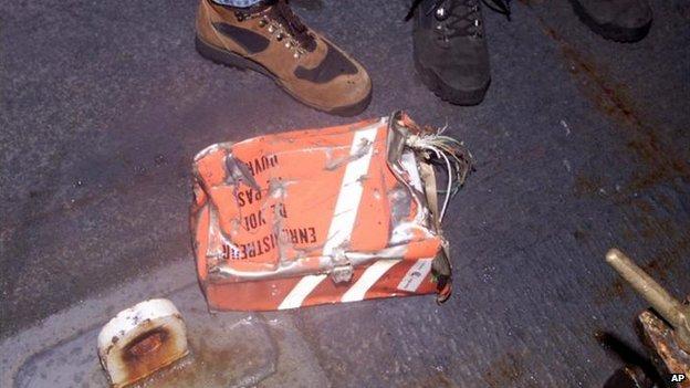 La caja negra de EgyptAir 990 aportó datos a la investigación del siniestro.