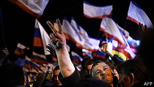 Una gran mayoría de la población de Crimea está de acuerdo en volver a ser parte de Rusia.