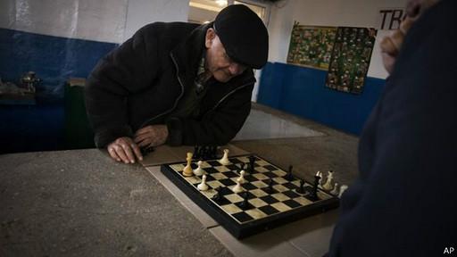 Los tártaros étnicos que boicotearon el referendo tuvieron un domingo normal.