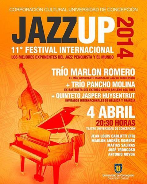 Primer ciclo JazzUp convoca a destacados exponentes del jazz en Concepción