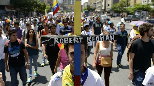 Robert Redman fue una de las 18 víctimas de las protestas.