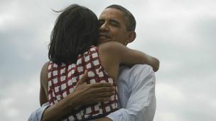 Hasta ahora la foto más compartida era la del abrazo con su esposa que tuiteó Barack Obama tras haber sido reelegido en 2012.