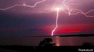 Las zonas tropicales son las más proclives a las tormentas eléctricas.