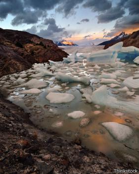 El fango bajo glaciares antárticos también alberga vida.