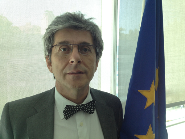 Rafael Dochao Embajador de la Unión Europea en Chile Foto: Gentileza Embajada de la Unión Europea